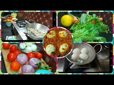 MORNING ROUTINE WITH YUMMY BREAKFAST AND EGG PULUSU CURRY BY #SMARTTELUGUHOUSEWIFE