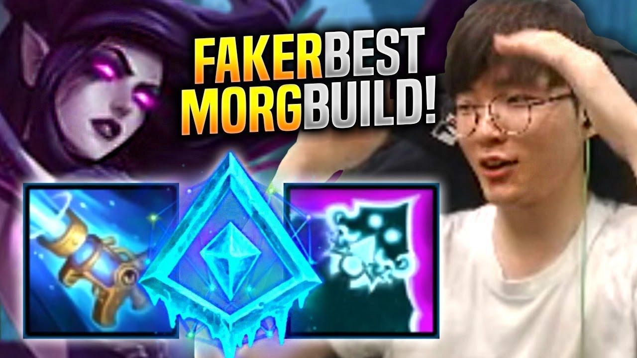 Faker Is So Good With Morgana Mid Skt T1 Faker Plays Morgana Vs