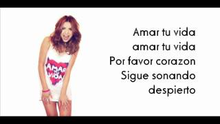 Elena Gheorghe - Amar tu vida (NEW SONG 2012) [LYRICS]
