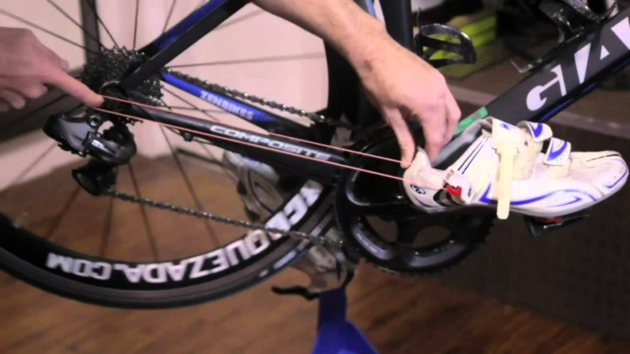 How To Rubber Band Your Triathlon Shoes To Your Bike Youtube