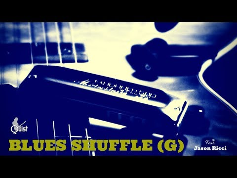 Blues Shuffle Jam   Playful Guitar Backing Track (G) - feat. Jason Ricci