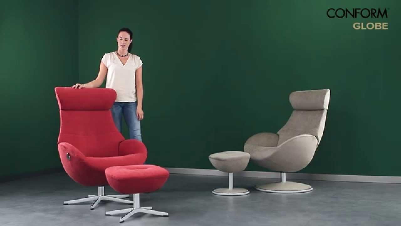 conform globe sessel youtube. Black Bedroom Furniture Sets. Home Design Ideas