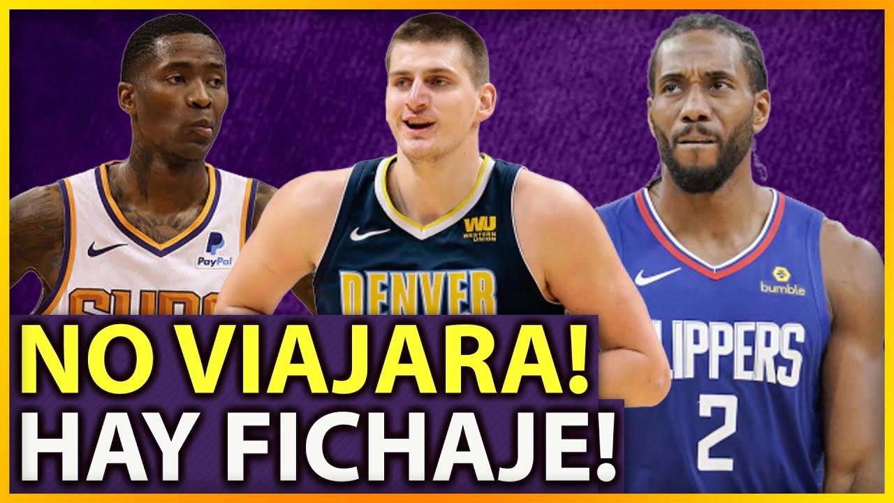 🔥KAWHI LEONARD NO VIAJA CON LOS CLIPPERS 📝NUEVO FICHAJE DE JAMAL CRAWFORD | ULTIMAS NOTICIAS NBA 🏀