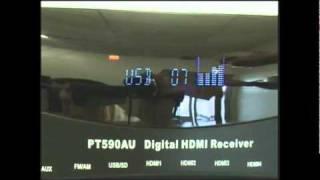 PT590AU Pyle Home Audio 5.1 Channel Receiver