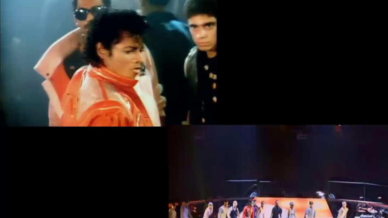 Michael Jackson - Beat It  1982-2009 comparation