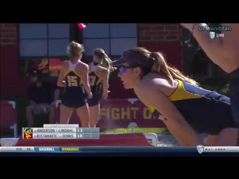 Cal at USC - NCAA Women's Beach Volleyball (March 28th 2017)