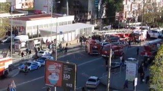 Пожар в Торговом центре на Юбилейной в Сочи