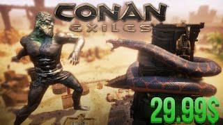 Conan Exiles   29 99 БАКСОВ ЗА ИГРУ! DEVBLOG 10  Правьте Землями изгнанников