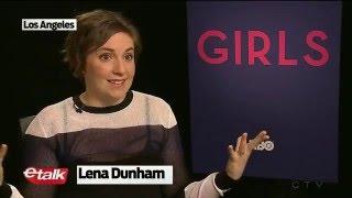 Andrew Rannells interview 2016 + Lena Dunham with ETALK - Girls season 6