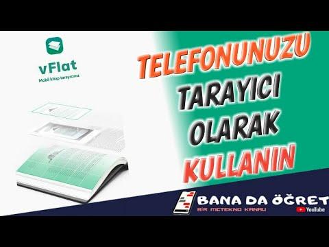 VFlat İle Telefonda Metin Tarama