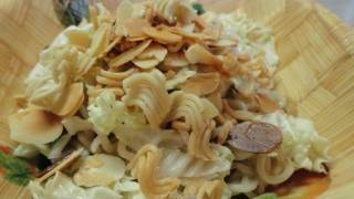 Cooking With Ramen (instant Noodles) #6: Creamy And Crunchy Coleslaw