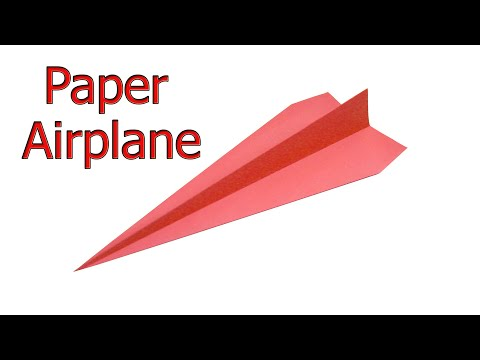 How To Make A Paper Airplane That Will Fly The Farthest |  paper aiplane |  diy cool hacks