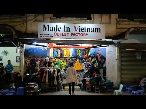 Hanoi Old Quarter | CRAZY Cheap North Face!