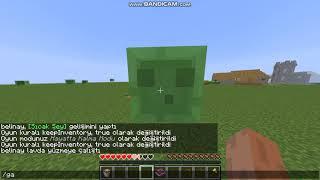minecraft ölünce eşyalar gitmeme kodu(ilk video)