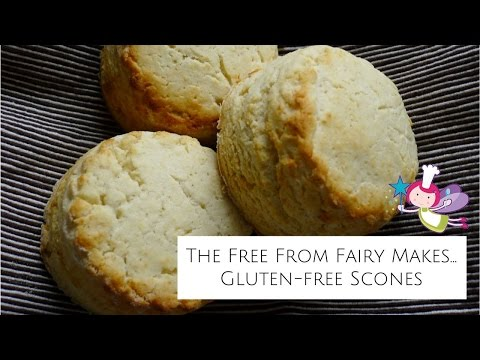 Gluten-Free Scone Recipe; learn how to make gluten-free scones