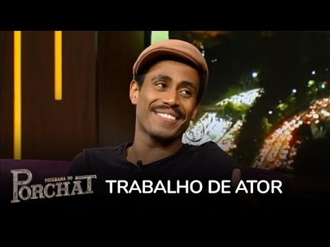 Ícaro Silva fala da dificuldade para conseguir papéis por ser negro