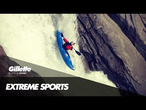 Extreme Kayaking in California | Gillette World Sport
