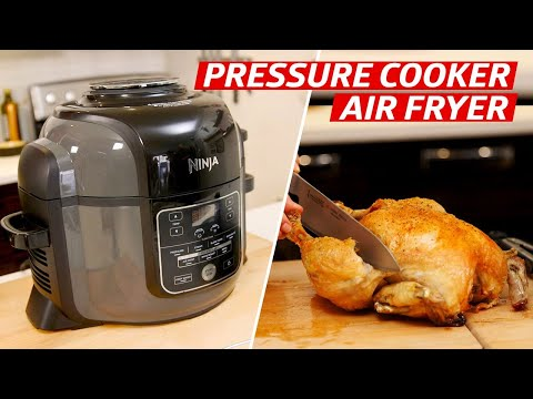 Is the Ninja Foodi the Best Way to Make Roast Chicken at Home? — The Kitchen Gadget Test Show - YouTube