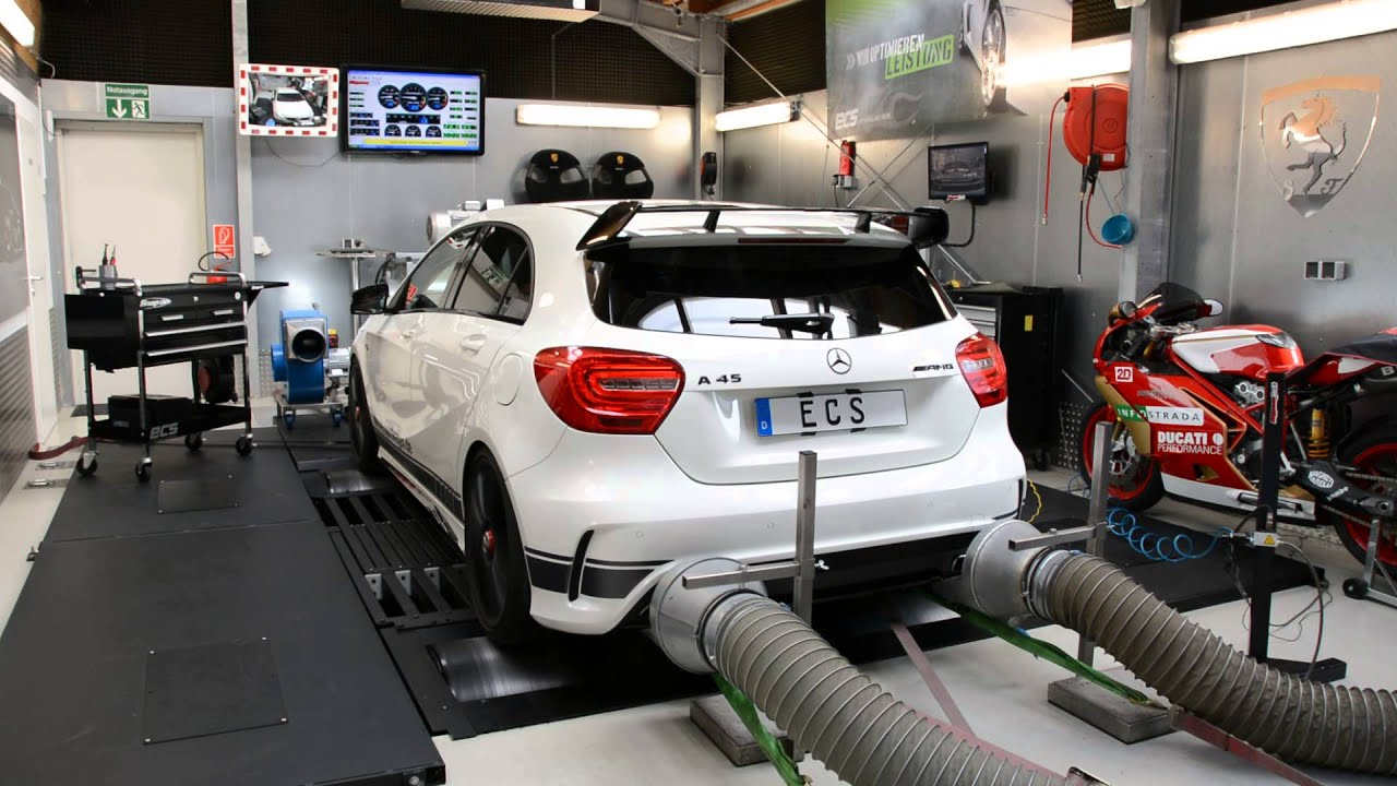 mercedes a45 amg tuning by ecs performance gmbh youtube. Black Bedroom Furniture Sets. Home Design Ideas
