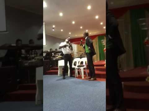 RCCG open heavens Johannesburg 2017 drama