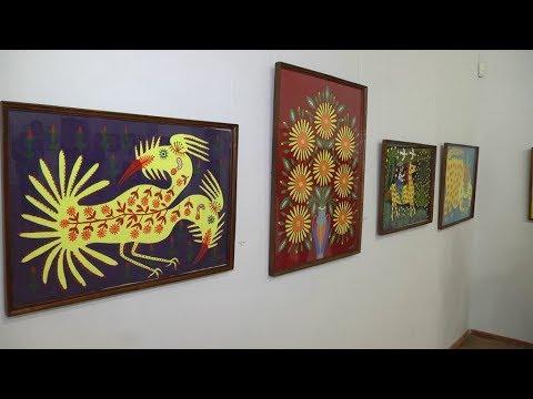 Поділля-центр: Вшосте відкрилась виставка картин Марії Приймаченко у Хмельницькому обласному художньому музеї