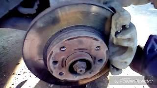 видео Замена шаровой опоры нижнего рычага передней подвески на автомобилях Daewoo Lanos, Sens, Nexia, Chevrolet Lanos,  Zaz Chance, ( Заз Шанс ), Opel Kadett, своими руками.