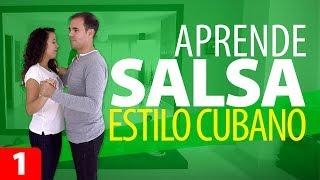 APRENDER A BAILAR SALSA | ESTILO CUBANO – Salsa para Principiantes #1