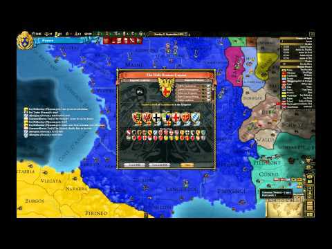 Let's Play Europa Universalis III Divine Wind France Episode III: Containment (7)