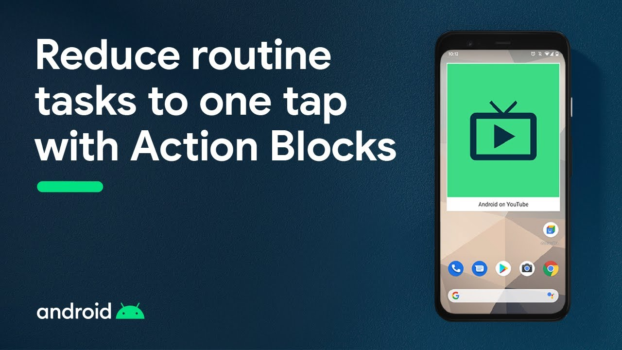 Android Accessibility: Introducing Action Blocks