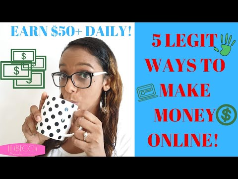 5 WORK FROM HOME JOBS FOR STAY AT HOME MOMS 2019 // MAKE MONEY ONLINE // SAHM. http://bit.ly/2Q6cQQf