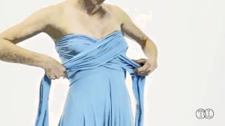 Платье трансформер-4: варианты драпировки