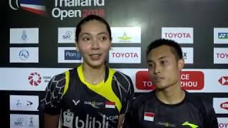 Hafiz Faizal/Gloria Emanuelle Widjaja - The Champion   Thailand Open 2018