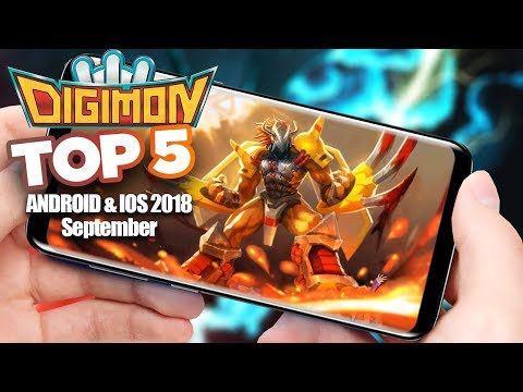 Top 5 Digimon Games September 2018 - Android IOS Gameplay