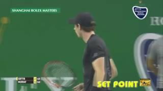 "Round 4 in Shanghai Masters 2016: Murray - Goffin ""Hard block hurricane"""
