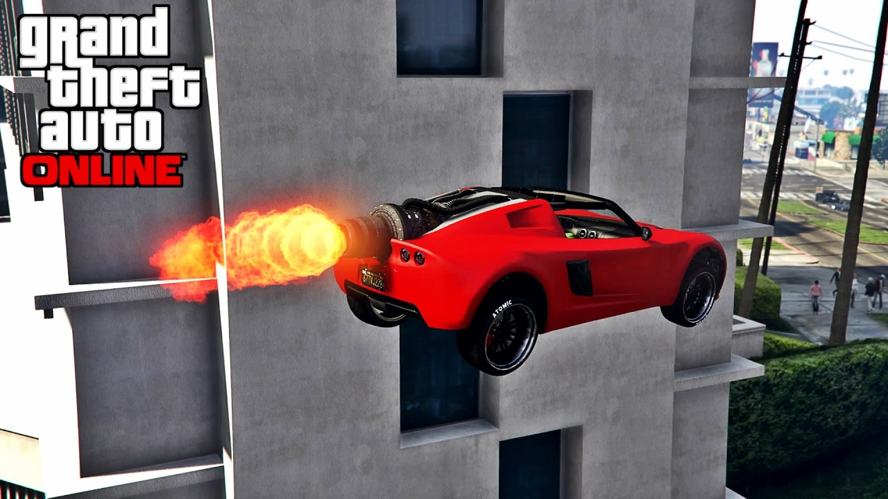 Rocket voltic voiture turbo gta 5 online for Voiture garage gta 5