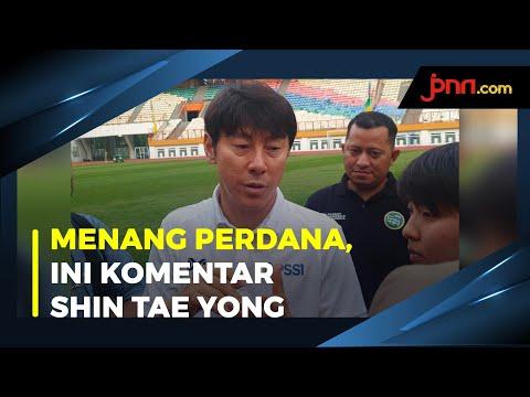 Timnas U-19 Taklukkan Qatar 2-1, Shin Tae Yong Beri Komentar Begini