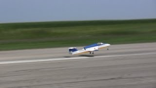 Boomerang Sprint Turbine Jet  At  Midwest Jets 2013