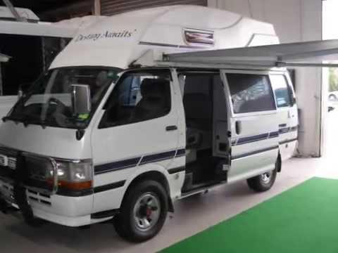 4wd Toyota Hiace Campervan 1175 Youtube