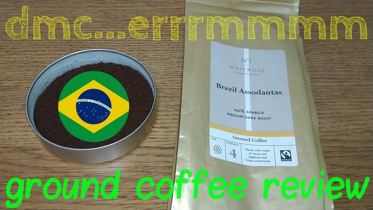 Waitrose Brazil Assodantas Ground Coffee Review