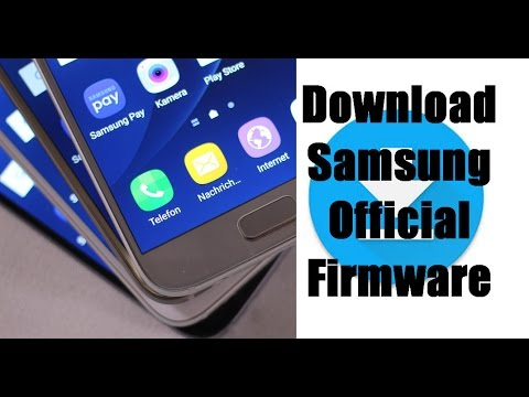 How to download samsung official firmware