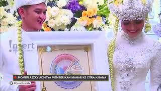 INSERT - Rezky Adhitya Beri Mas Kawin Senilai Jutaan Rupiah (2/12/19)