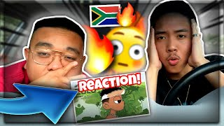 American Friend REACTS To Nasty C x DJ WHOOkid - Not The Same (Zulu Mixtape Audio) REACTION! US USA
