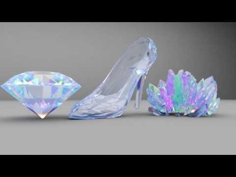 Cinema 4D - Arnold Render Tutorial Crystal Render