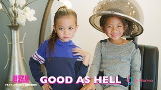 Good As Hell - Lizzo - Ariana Grande - Music Video Cover by 6 Year Old Le Gianna - Kids Clean Remix
