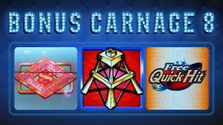 Bonus Carnage 8 - HIGH LIMIT SLOTS - $50 Top Dollar & More!