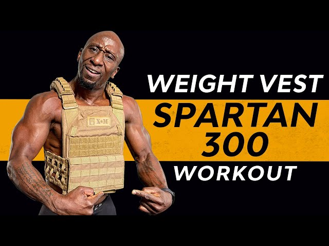 Weighted Vest Training – Spartan 300 HIIT Workout