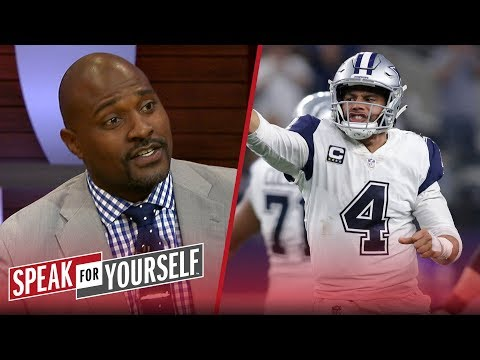 Whitlock and Wiley discuss if Dak is 'closing the gap' on Carson Wentz | NFL | SPEAK FOR YOURSELF