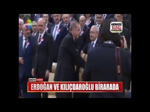 Erdoğan ile Kılıçdaroğlu birarada