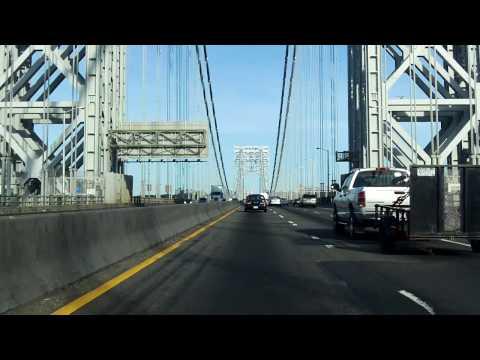 George Washington Bridge (Upper Level) south/westbound