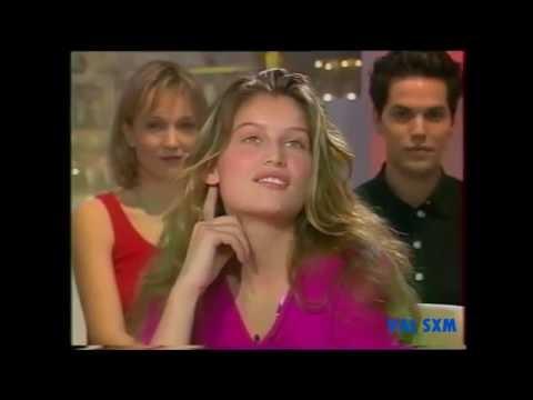 LAETITIA CASTA at 20 years old ....rare  in 1999.